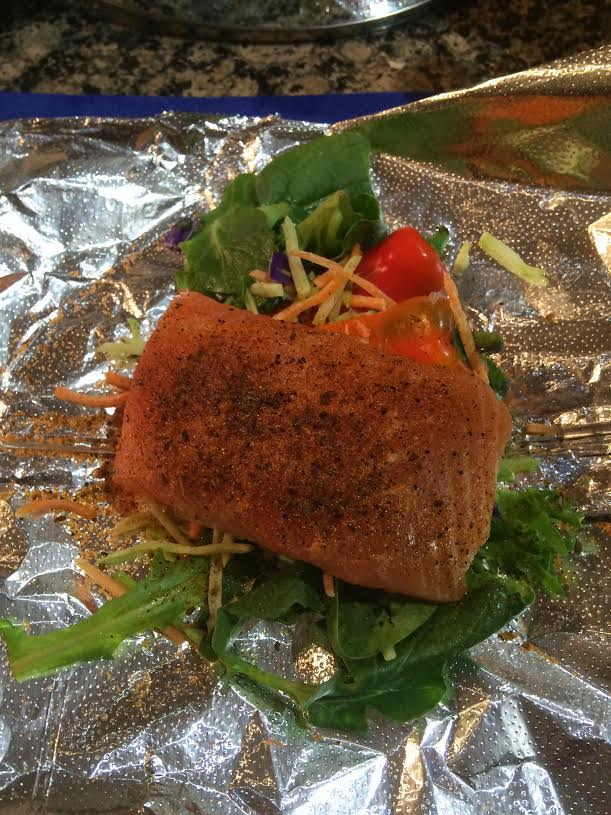 how to cook snapper fillets in foil