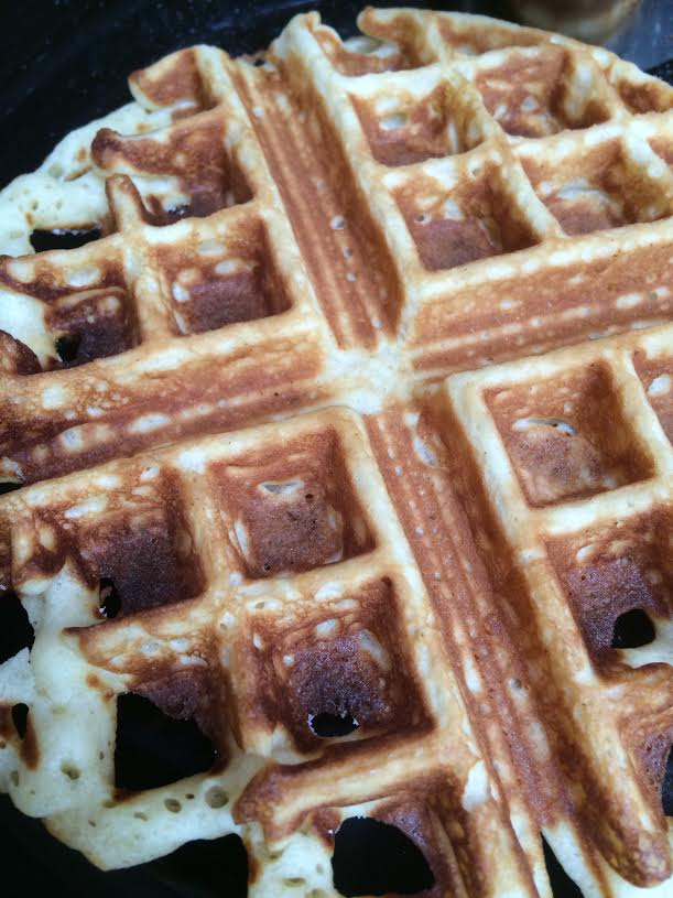 waffles up close