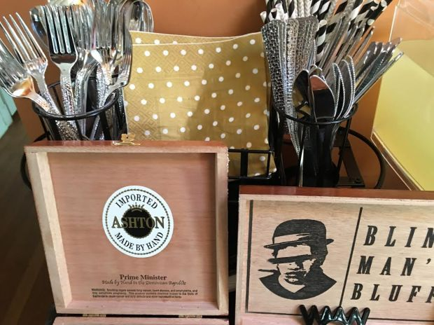 little man party-cigar boxes