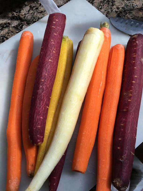 rainbow carrots ingredients