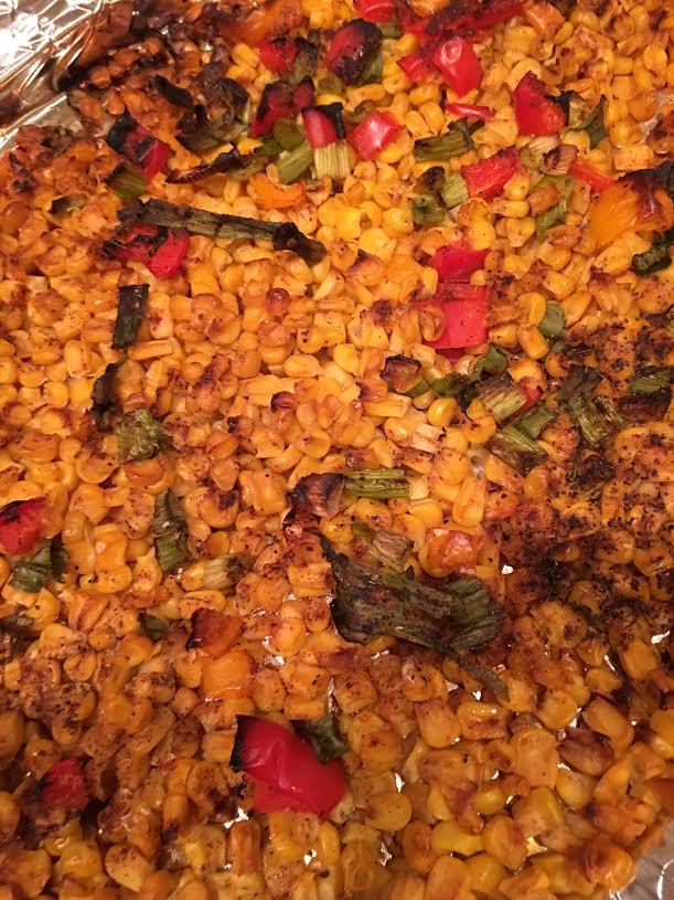 roasted corn salad-finished
