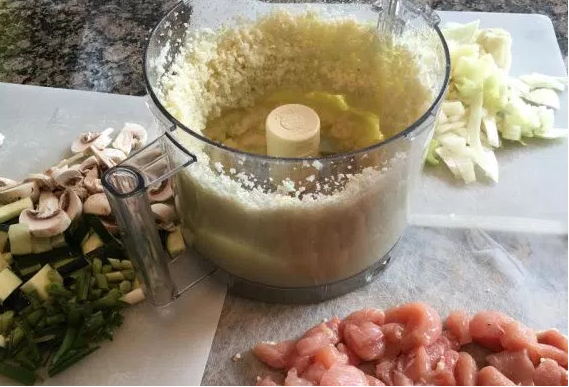 cauliflower couscous ingredients