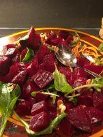 cramim dinner buffet beet salad