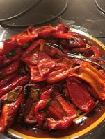 cramim dinner buffet roasted peppers