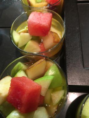 cramim dinner fresh fruit salad