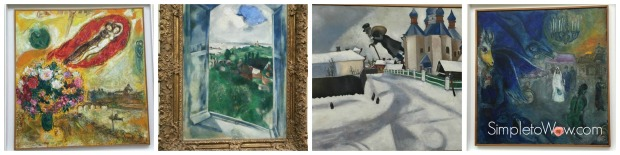chagall in zurich collage