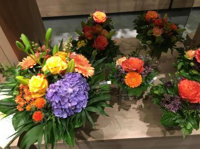 zurich florist in train station