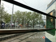 zurich-in the rain by trolley