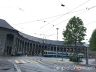zurich-trolley-enge station