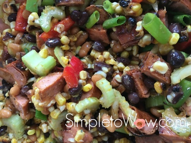 cowboy caviar from leftovers