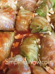 passover stuffed cabbage