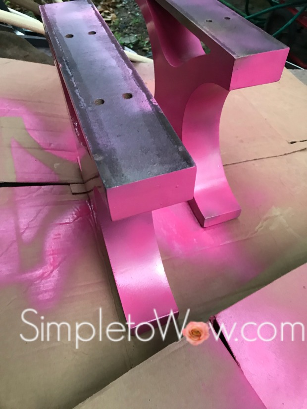 kate spade bench x legs sprayed hot pink.jpg