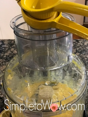 pesach lemon curd in food processor