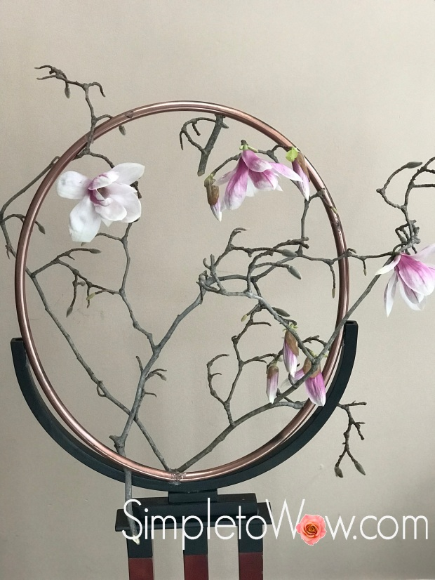 magnolia hoop arrangement 2