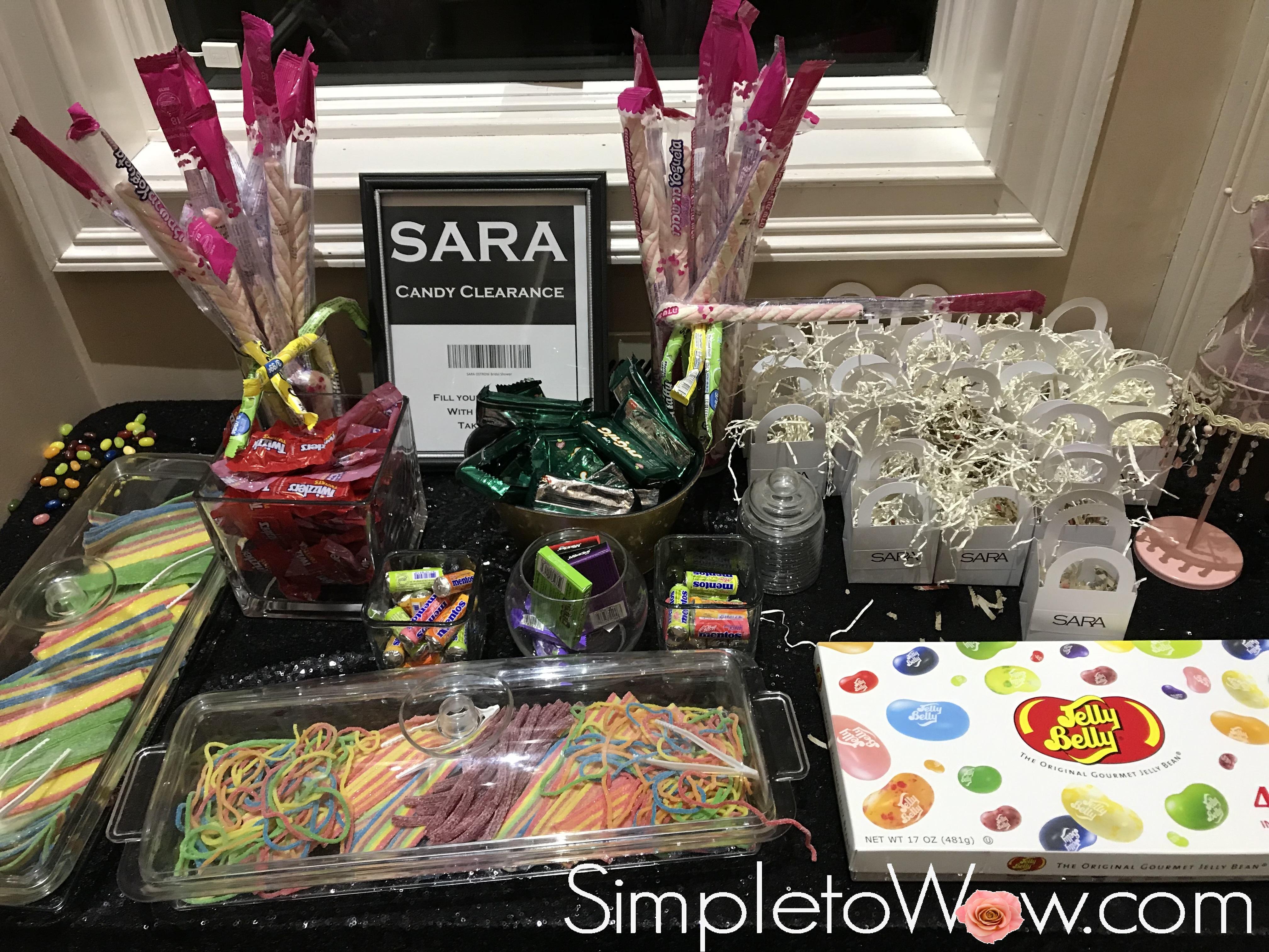 sara candy clearance