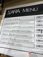 sara menu w barcodes